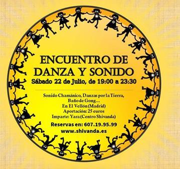 EVENTO: ENCUENTRO DE DANZA Y SONIDO EN EL VELLÓN (MADRID)