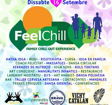 EVENTO: FEEL CHILL - FAMILY CHILLOUT EXPERIENCE