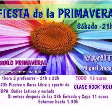 FIESTA PRIMAVERA+REGALO+CLASE+PICOTEO+B LIBRE+COPA