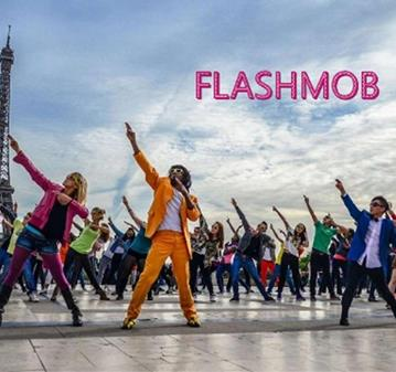 FIESTA: FLASHMOB PEDIDA DE MANO