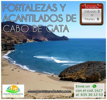 VIAJE: FORTALEZAS Y ACANTILADOS DE CABO DE GATA