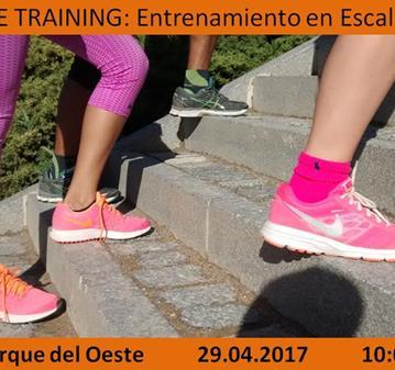 ENTRENAMIENTO: FREE TRAINING: ENTRENAMIENTO EN ESCALERAS