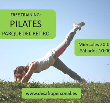 CLASE: FREE TRAINING: PILATES EN EL RETIRO