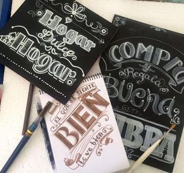 CLASE: HAND LETTERING