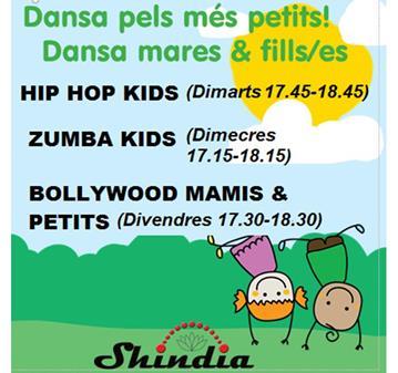 CLASE: HIP HOP KIDS / DANZA PARA NIÑOS/AS EN GRANOLLERS