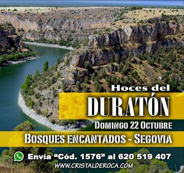 RUTA: HOCES DEL DURATÓN, BOSQUES ENCANTADOS (SOMOS 34)