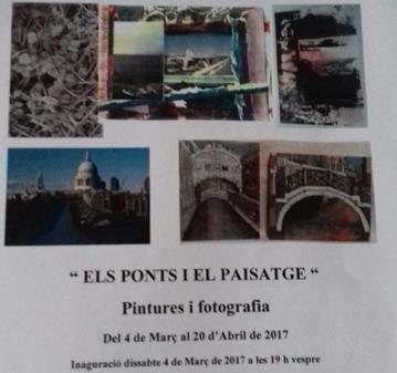 """EVENTO: INAGURACIÓN EXPOSICIÓN """"ELS PONTS I ELS PAISATGES"""""""