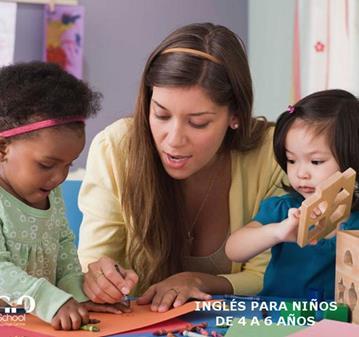 CURSO: INGLÉS PARA NIÑOS DE 4 A 5 AÑOS EN SANSE