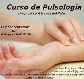 CURSO: INTENSIVO PULSOLOGIA - MEDICINA TRADICIONAL CHINA