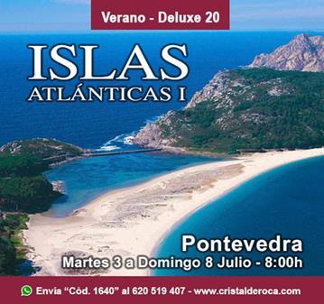 VIAJE: ISLAS ATLÁNTICAS I (ISLAS CIES – ISLA DE ONS)