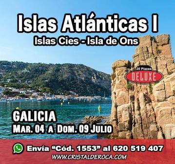 VIAJE: ISLAS ATLÁNTICAS I (YA SOMOS 18)