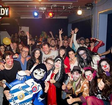JUEVES: HAHA-HALLOWEEN DE BARCELONA COMEDY CLUB