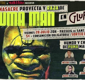 EVENTO: LAS PEORES PELÍCULAS DE LA HISTORIA: PUMA-MAN