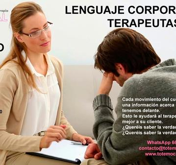 TALLER: LENGUAJE CORPORAL PARA TERAPEUTAS