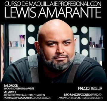 MASTERCLASS: LEWIS AMARANTE EN MADRID