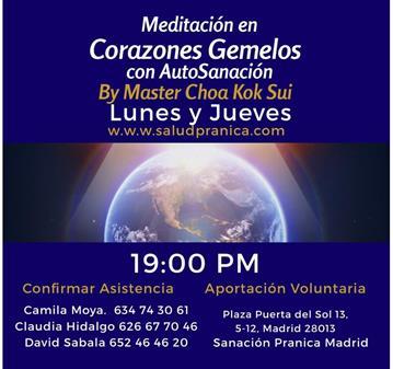 QUEDADA: MEDITACIÓN DE CORAZONES GEMELOS