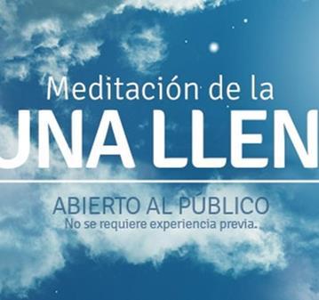 EVENTO: MEDITACIÓN DE LUNA LLENA (APORTACIÓN VOLUNTARIA)