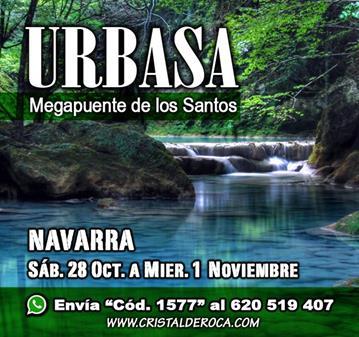 VIAJE: MEGAPUENTE DE LOS SANTOS URBASA (SOMOS 13)