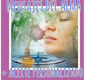 SESIÓN: MENSAJES DEL ALMA + ACEITE PEESONALIZADO  OFERTA.