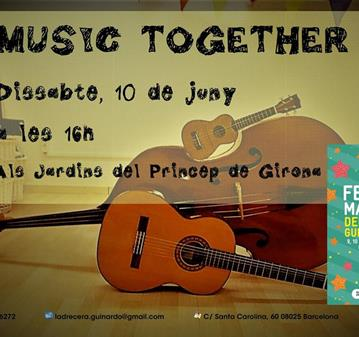 TALLER: MUSIC TOGETHER - FESTA MAJOR DEL BAIX GUINARDÓ