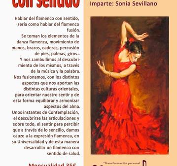 CLASE: FLAMENCO CON SENTIDO
