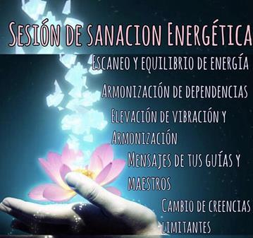SESIÓN: SANACION ENERGÉTICA PROFUNDA