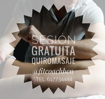 SESION GRATUITA DE QUIROMASAJE