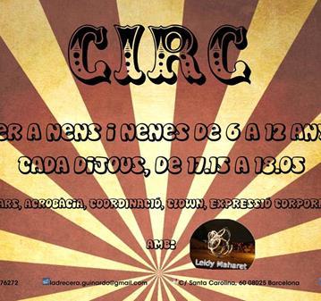 CLASE: TALLER DE CIRC