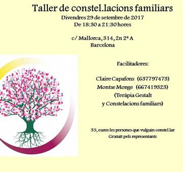 TALLER DE CONSTELACIONES FAMILIARES
