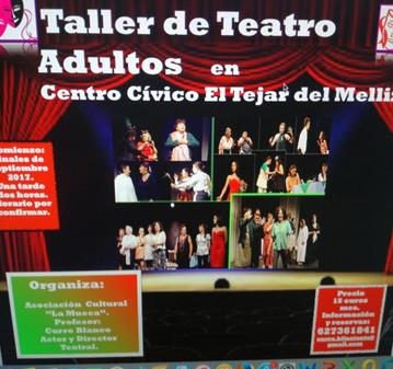 CURSO-TALLER DE TEATRO ADULTOS