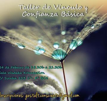 TALLER DE VÍNCULO Y CONFIANZA BÁSICA