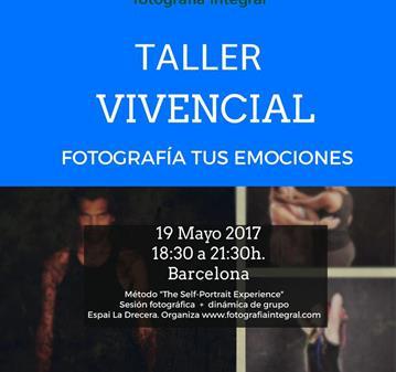 TALLER VIVENCIAL DE FOTOGRAFÍA