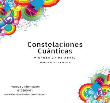 TALLER: TARDE DE CONSTELACIONES CUÁNTICAS