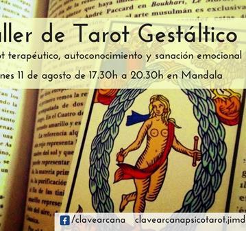 TALLER: TAROT GESTÁLTICO - TAROT TERAPÉUTICO PARA CRECER