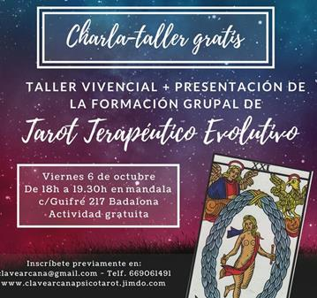CURSO: TAROT TERAPÉUTICO EVOLUTIVO Y CRECIMIENTO PERSONAL