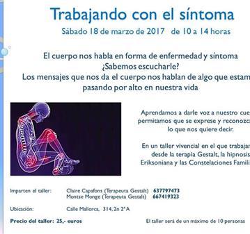 TALLER: TRABAJANDO CON EL SÍNTOMA