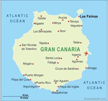 VIAJE: VIAJAR A GRAN CANARIA 28 DE JULIO AL 11 DE AGOSTO