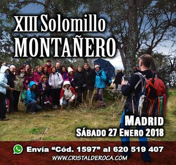 EXCURSIÓN: XIII EDICIÓN DEL SOLOMILLO MONTAÑERO