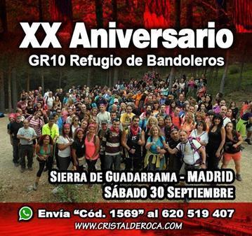 FIESTA: XX ANIVERSARIO–GR10 REFUGIO BANDOLEROS (SOMOS 181)