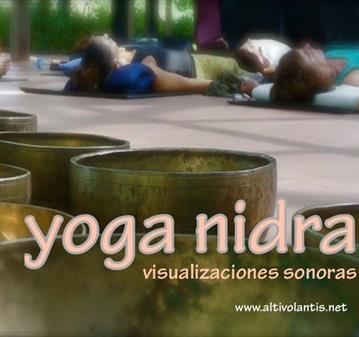 YOGA NIDRA VISUALIZACIONES SONORAS
