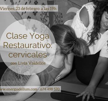 CLASE: YOGA RESTAURATIVO - CERVICALES