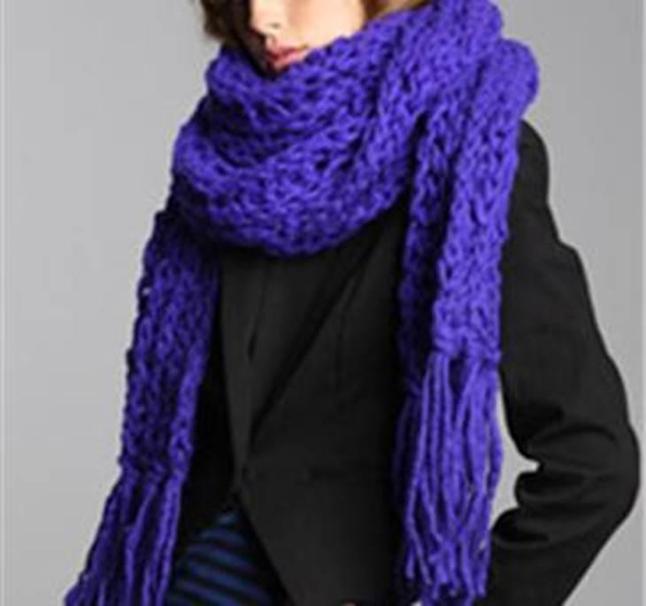 Bufanda o cuello de lana bien gordita - Uolala f35c9b4d42f