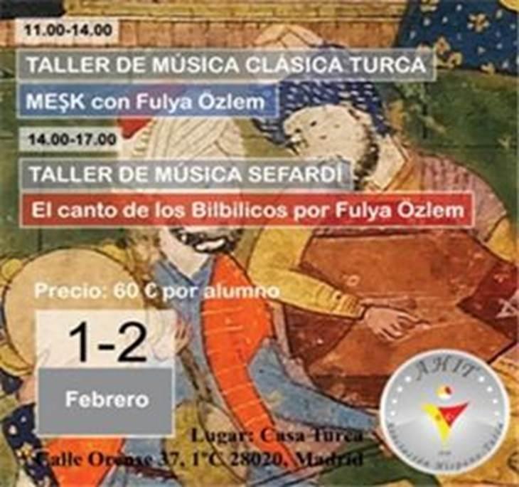 Taller de m sica cl sica turca m sica sefard uolala for Casa piscitelli musica clasica