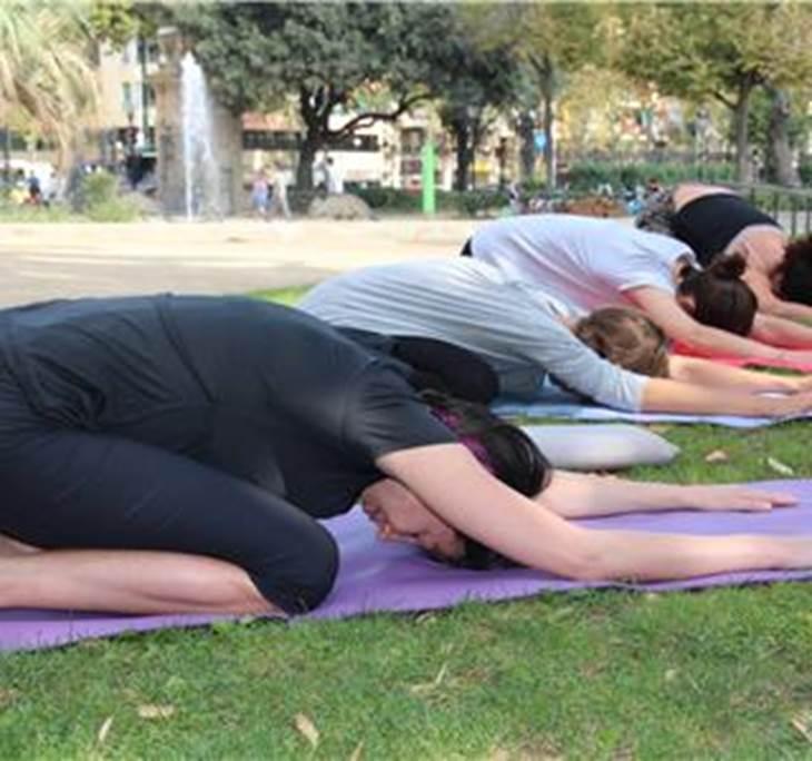 Yoga & Brunch en el parque de la Ciutadella - pic0