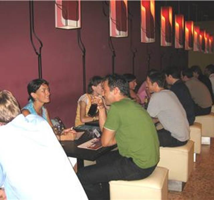 Snooker barcelona speed dating 5