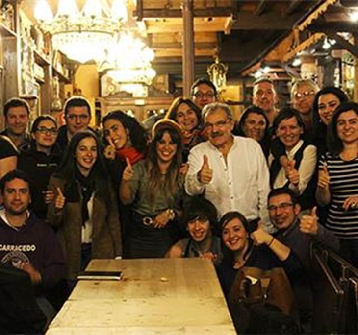 Reunión de periodistas bercianos en Madrid 2013 - pic0