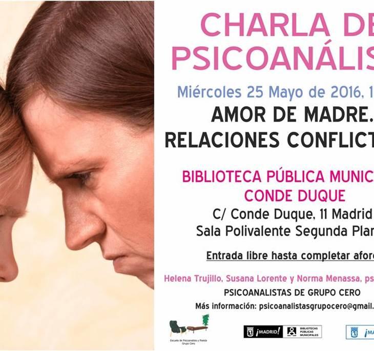 AMOR DE MADRE. RELACIONES CONFLICTIVAS. - pic0