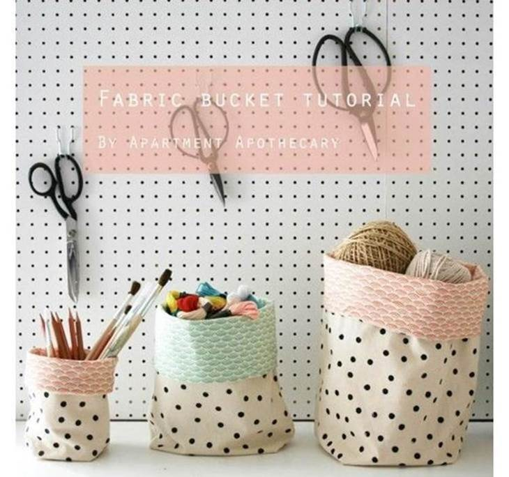 Taller aprende a coser a m quina haciendo cestos de tela - Cestos de tela ...