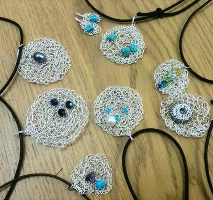 Aprende a hacer joyas con hilo de plata - pic0