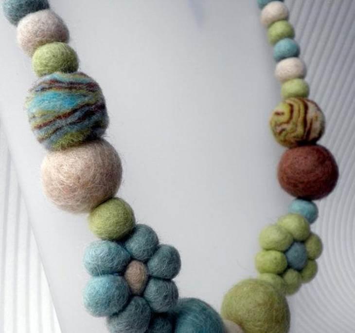 minorista online bc243 1dd13 Taller collares de fieltro moldeado - Uolala